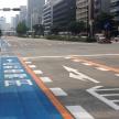 自転車専用通行帯に停車しているクルマがあるけど、これっていいの?