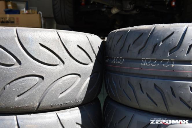 Sタイヤとラジアルタイヤを比較すると…