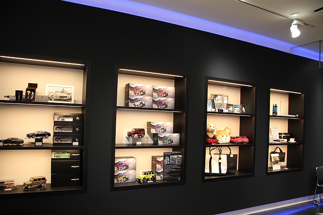 Mercedes me GINZA the limited store 塚田勝弘