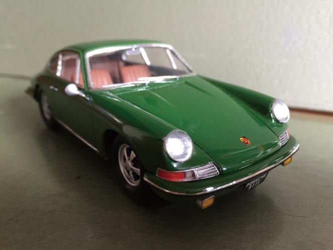 アヘッド ポルシェ 911S ミニカー