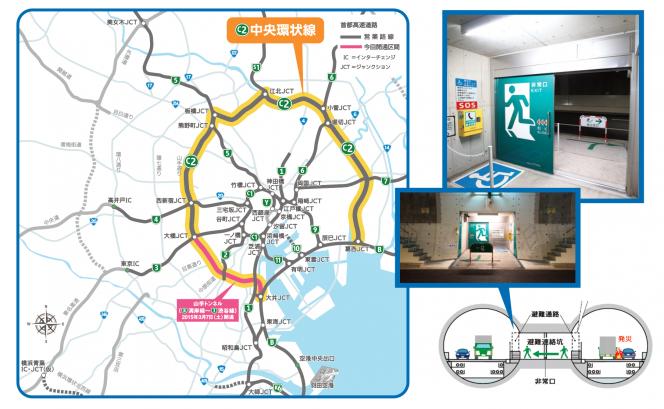 アヘッド 日本一長い山手トンネルの安全・防災は?