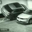 【動画】そこまでするか?アウディQ3が行なった画期的な駐車方法とは!?