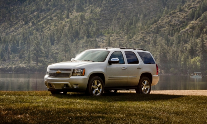 GMのシボレー・タホ。SUV(スポーツ用多目的車)