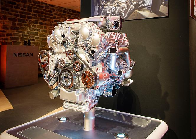 VR38DETT 3.8L V6 ツインターボエンジン