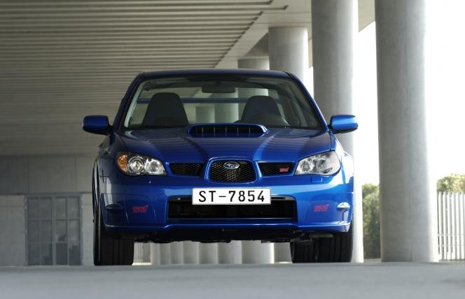 スバル インプレッサ WRX STI 2005