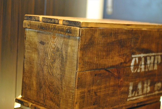ランタン 木箱