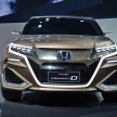 世界初!ホンダの高級SUV「ConceptD」が公開!