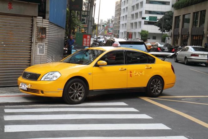 日産 ティアナの台湾のタクシー