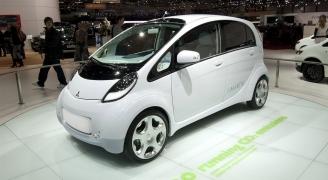 環境に優しい電気自動車、三菱i-MiEV