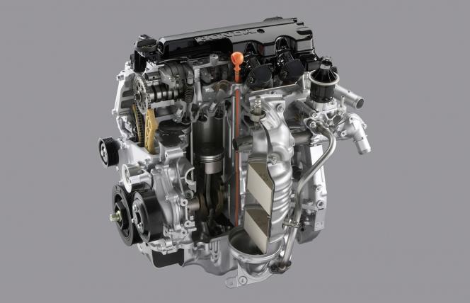 1.8L i-VTECエンジン