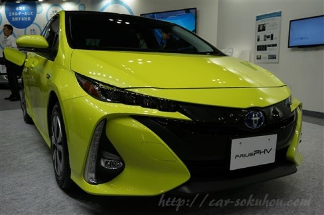 トヨタ プリウスPHV 2017