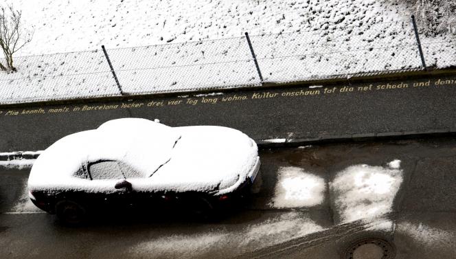 オープンカー 冬