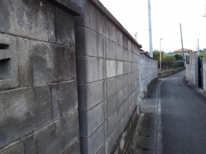 石垣 ブロック塀