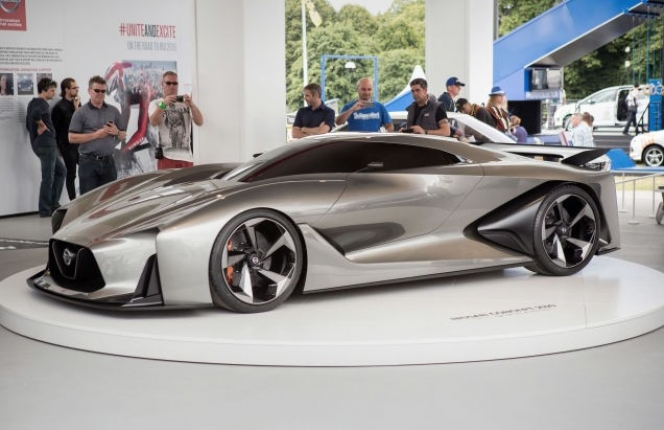 GT-R バーチャルコンセプトカー