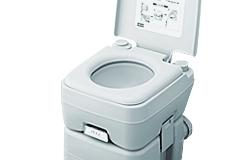 本格派ポータブル水洗トイレ 2層式 10リットル