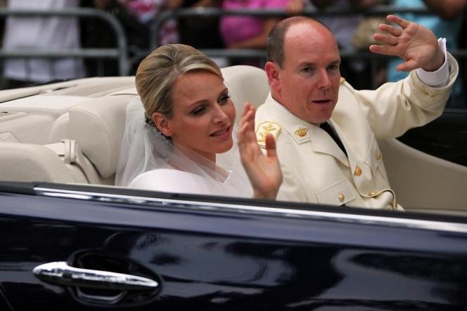 モナコ、アルベール2世の結婚式