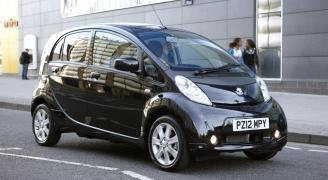 Peugeot iOn Black