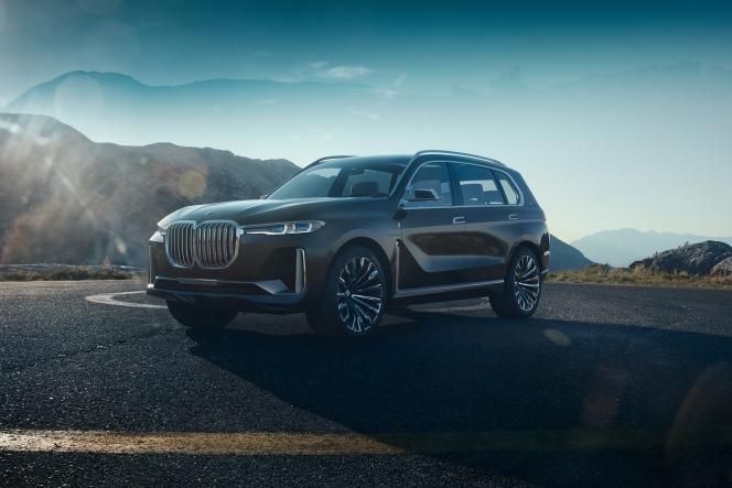 BMW X7 iPerformance コンセプトモデル 2017