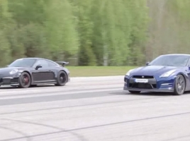 因縁の対決?GT-Rとポルシェ911 GT3はどちらが速い?