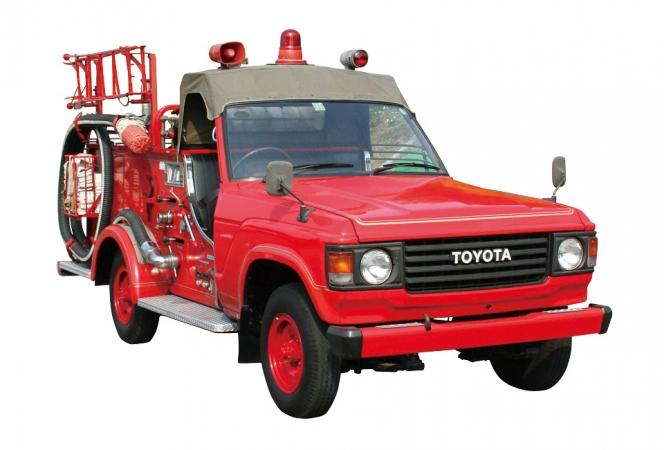 トヨタ 消防車