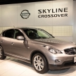 スカイラインの名を背負った、SUVスカイラインクロスオーバーとはいったいどんな車?燃費・維持費、中古価格は?