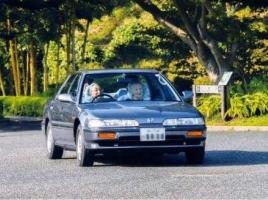 自動車愛好家で知られる今上天皇の愛車は91年式インテグラ!F1GPの表彰台に初めてあがった日本人も天皇陛下でした。