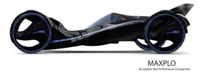 クムホ エアレスタイヤコンセプト MAXPLO