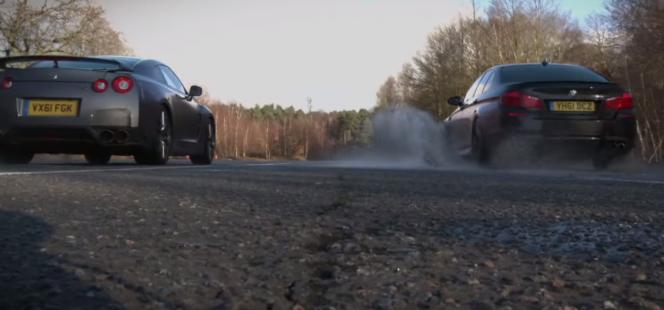 GT-R vs BMW M5