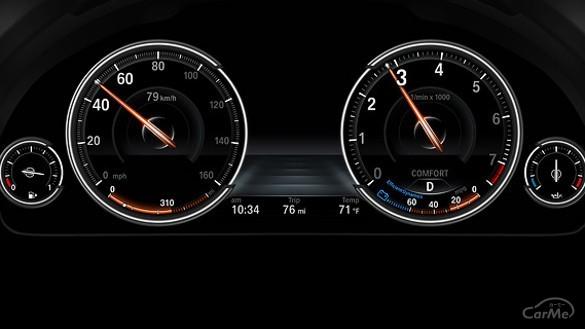 BMW5 メーターパネル