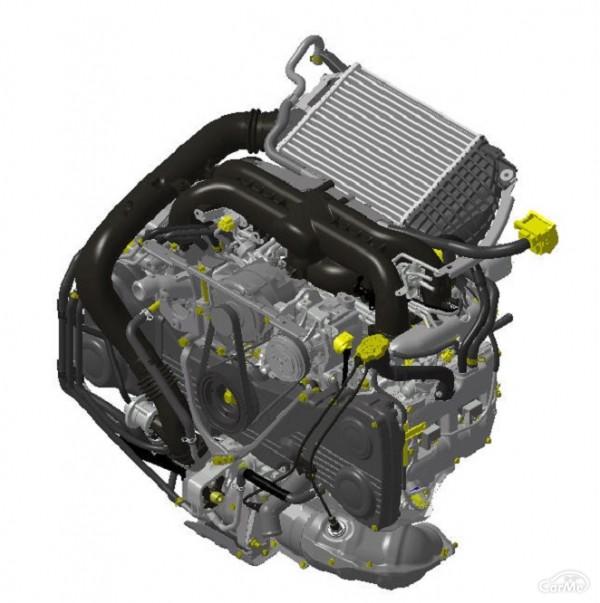 2.0L直噴ターボエンジン