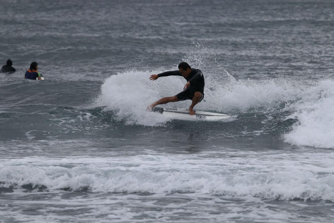 サーフィンの写真