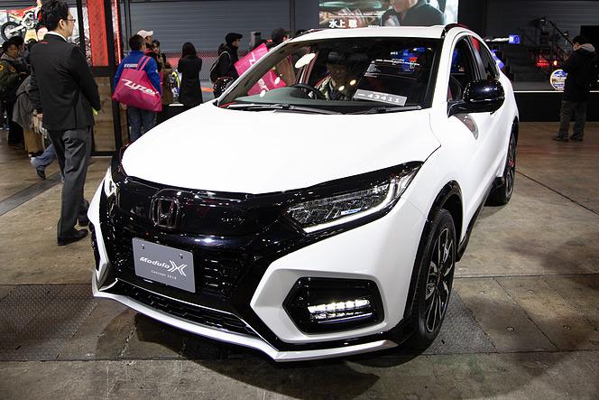 Hondaブース ヴェゼルやs660などのmodulo X最新モデルが勢揃い 東京