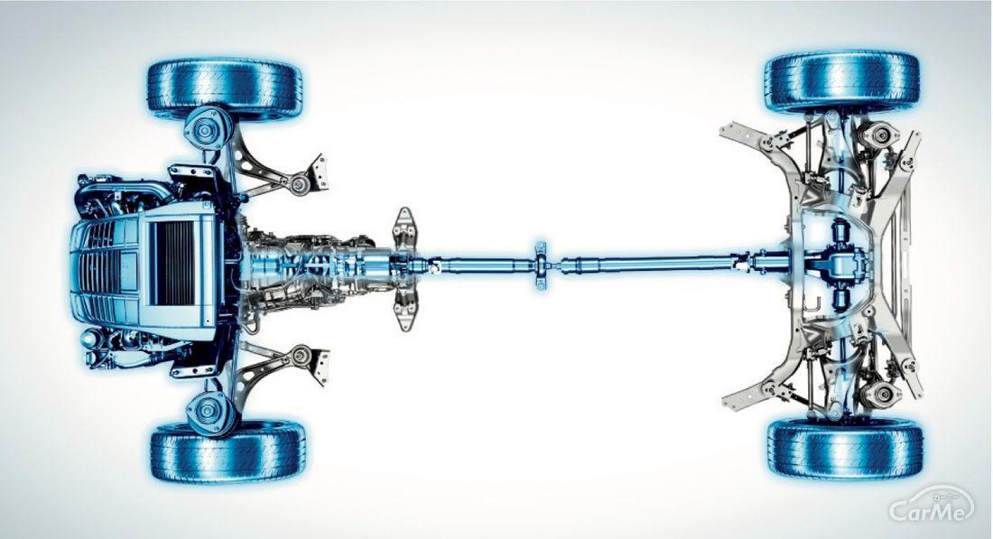 スバル好きになれる記事【現役社員が書く】独自の4WDシステム「シンメトリカルAWD」