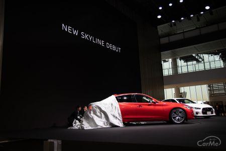 日産自動車は16日、新型「スカイライン」を発表した。スカイラインは1957年に初代が登場。今年で62年の歴史...