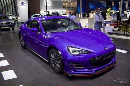 スバルは4月16日〜18日に開催された上海モーターショーで改良された「スバル BRZ」を発表。