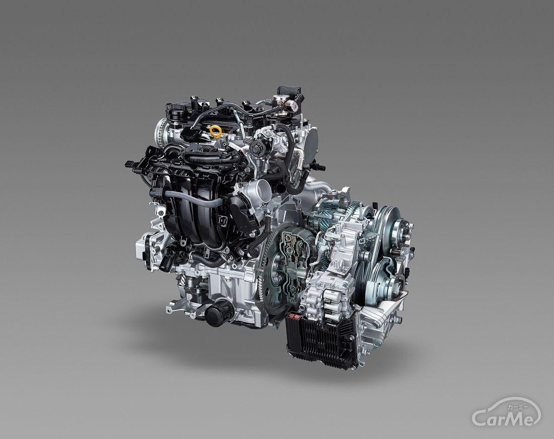 トヨタ ヤリス 1.5Lダイナミックフォースエンジン&Direct Shift-CVT