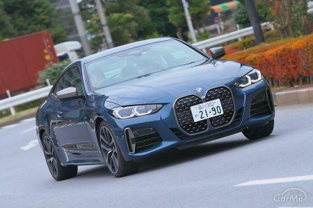 2020年10月に日本で発売されたBMW 新型4シリーズ・クーペ(G22型)。大型キドニー・グリルをはじめとするBMW...