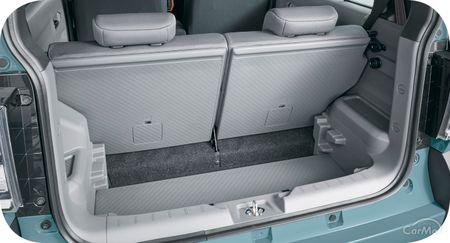 ここでは、ダイハツ 新型タフト(LA900S/LA910S型)のラゲッジスペース(荷室)の広さや使い勝手について紹介し...