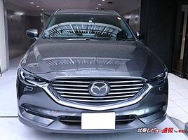 マツダ CX-8 XD L Package内装レビュー①【運転席周りのデザイン&機能性をチェック!】