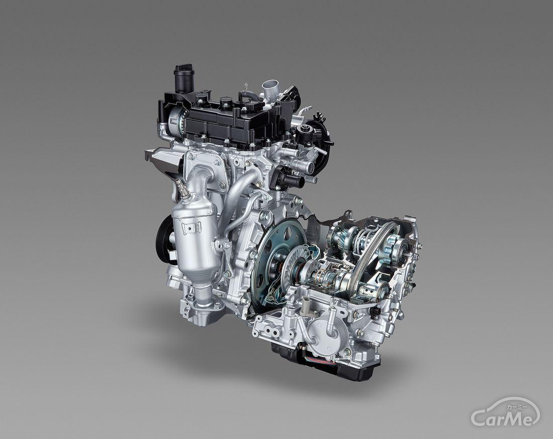 トヨタ ヤリス 1.0Lエンジン&Super CVT-i(1KR-FE)