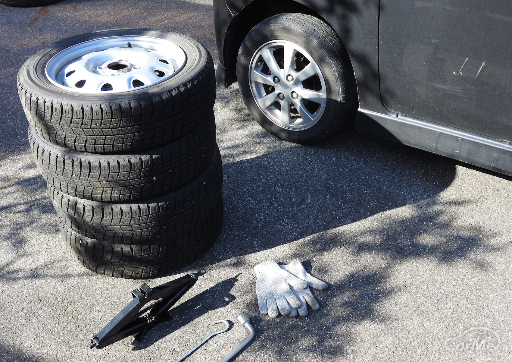 タイヤ 保管 方法